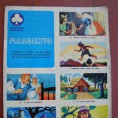 Coleccionismo Álbumes: ALBUM DE CROMOS. PURGARCITO. COLECCION TREBOL. AÑO 1970. SUSAETA. INCOMPLETO. Lote 26890893
