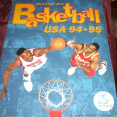 Coleccionismo Álbumes: ALBUM DE CROMOS DE BALONCESTO BASKETBALL USA 94-95. Lote 26561371