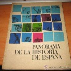 Coleccionismo Álbumes: PANORAMA DE LA HISTORIA DE ESPAÑA ...NESTLE.....FALTAN 56 DE 96. Lote 22323108