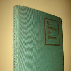 Coleccionismo Álbumes: ALBUM DE CROMOS. MARAVILLAS DEL UNIVERSO. NESTLE. 1958. INCOMPLETO. Lote 27252956