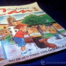 Coleccionismo Álbumes: CIUDADANO CAN. ALBUM DE CROMOS INCOMPLETO. ACE EDICIONES, OVIEDO, 1998. CONTIENE 108 DE 120 CROMOS.. Lote 11441490
