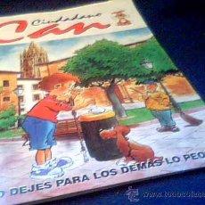Coleccionismo Álbumes: CIUDADANO CAN. ALBUM DE CROMOS CASI COMPLETO. ACE EDICIONES, OVIEDO, 1998. Lote 11915872