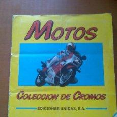 Coleccionismo Álbumes: ALBUM CROMOS MOTOS * MOTOR 16 * FALTAN SOLO 8 CROMOS!!!!. Lote 26364160