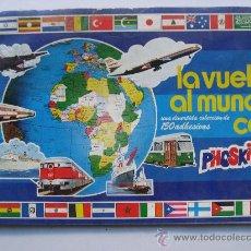 Coleccionismo Álbumes: ALBUM DE CROMOS,LA VUELTA AL MUNDO DE PHOSKITOS.SIN CROMOS.. Lote 22379944