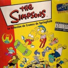 Coleccionismo Álbumes: ALBUM DE CROMOS - THE SIMPSONS (INCOMPLETO). Lote 21455088