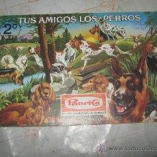 Coleccionismo Álbumes: TUS AMIGOS LOS PERROS,PANRICO,VACIO.. Lote 21555559