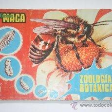 Coleccionismo Álbumes: ALBUM MAGA - ZOOLOGIA Y BOTANICA. Lote 27439415