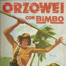 Coleccionismo Álbumes: ORZOWEI CON BIMBO.- BIMBO.- 1978.- ALBUM CON 16 CROMOS DE 120.. Lote 22208050
