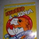 Coleccionismo Álbumes: ALBUM DE ISIDORO & SONIA LE FALTA UN SOLO CROMO (63). Lote 22195348
