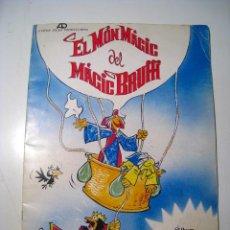 Coleccionismo Álbumes: MON MAGIC DEL MAGIC BRUFFI - ALBUM CROMOS CASI VACIO. Lote 23142691