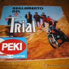 Collezionismo Album: REGLAMENTO DEL TRIAL, PEKI. MONTESA.. Lote 27116651