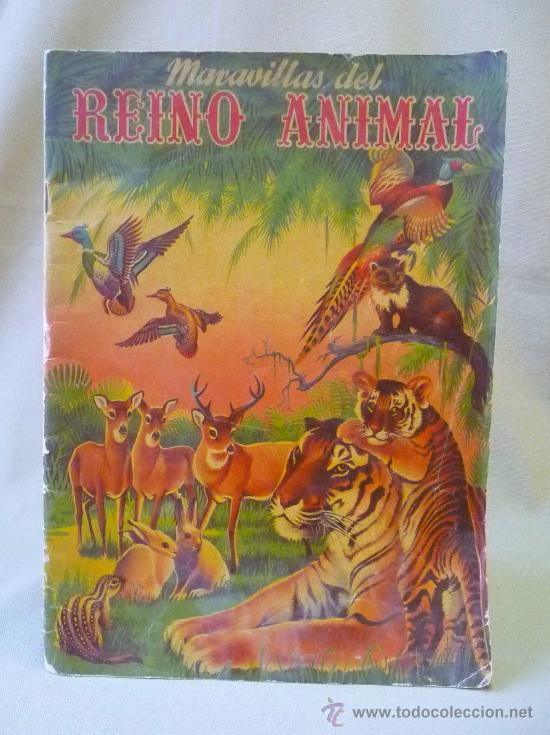 Coleccionismo Álbumes: ALBUM, MARAVILLAS DEL REINO ANIMAL, EDITORIAL ALCE, SOLO LLEVA 9 CROMOS - Foto 2 - 24175338