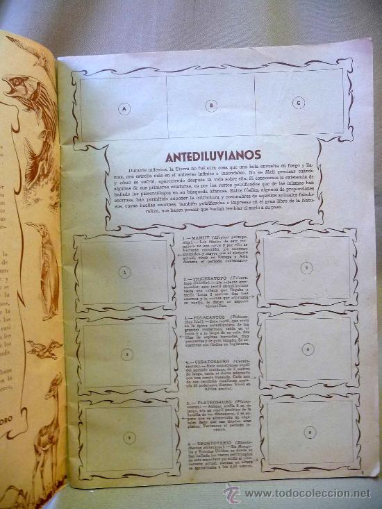 Coleccionismo Álbumes: ALBUM, MARAVILLAS DEL REINO ANIMAL, EDITORIAL ALCE, SOLO LLEVA 9 CROMOS - Foto 4 - 24175338