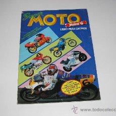 Coleccionismo Álbumes: ALBUM SUPER MOTO. MOTOR 16. AÑO 1990. Lote 24971513