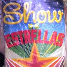 Coleccionismo Álbumes: SHOW DE ESTRELLAS. ALBUM VACIO, PLANCHA. Lote 26760891