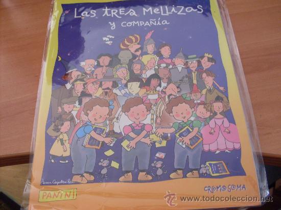 LAS TRES MELLIZAS Y COMPAÑIA PANINI ( ALBUM CASI COMPLETO , FALTAN 18 CROMOS DE 140 ) (CO1) (Coleccionismo - Cromos y Álbumes - Álbumes Incompletos)