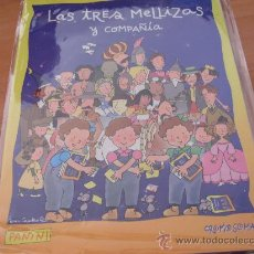 Sammeln Sammelalben - LAS TRES MELLIZAS Y COMPAÑIA PANINI ( ALBUM CASI COMPLETO , FALTAN 18 CROMOS DE 140 ) (CO1) - 25394916