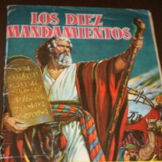 Coleccionismo Álbumes: ALBUM DE CROMOS - LOS DIEZ MANDAMIENTOS - CHOCOLATES SULTANA - INCOMPLETO. Lote 26067904
