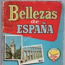 Coleccionismo Álbumes: BELLEZAS DE ESPAÑA. ALBUM CON 110 CROMOS.. Lote 26017153