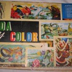 Coleccionismo Álbumes: ÁLBUM VIDA Y COLOR, SÓLO LE FALTA EL CROMO Nº 168. Lote 28676800