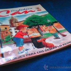Coleccionismo Álbumes: CIDADANO CAN. ALBUM DE CROMOS CASI COMPLETO. FALTAN 6 CROMOS. LA NUEVA ESPAÑA 1998.. Lote 26679060