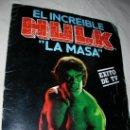 Coleccionismo Álbumes: EL INCREIBLE HULK. Lote 26891375