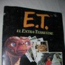 Coleccionismo Álbumes: E.T. EL EXTRATERRESTRE COLECCION DE CROMOS. Lote 26891610