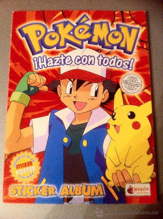 POKEMON, ¡HAZTE CON TODOS!.- AÑO 1996 (Coleccionismo - Cromos y Álbumes - Álbumes Incompletos)