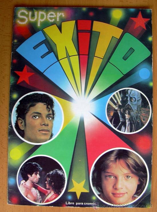 SUPER ÉXITO - EDIT. MAGA 1984 - TIENE 42 CROMOS (Coleccionismo - Cromos y Álbumes - Álbumes Incompletos)