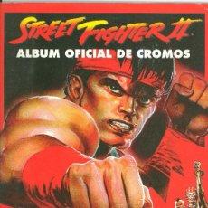 Coleccionismo Álbumes: STREET FIGHTER 2 -- FALTAN 175 DE 240. Lote 27486380