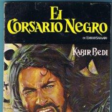 Coleccionismo Álbumes: ÁLBUM INCOMPLETO. EL CORSARIO NEGRO. PANRICO, 1977.. Lote 28181442