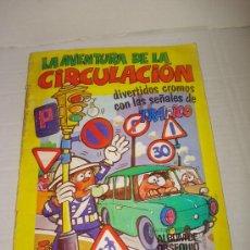 Coleccionismo Álbumes: ALBUM LA AVENTURA DE LA CIRCULACION DE EDICIONES ESTE . AÑO 1973 .. Lote 27659284