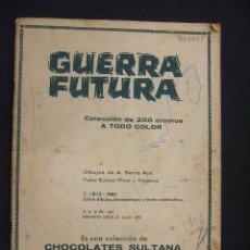 Coleccionismo Álbumes: ALBUM CROMOS - GUERRA FUTURA - CHOCOLATES SULTANA - 1963 - ALBUM SIN CROMOS -. Lote 196985820