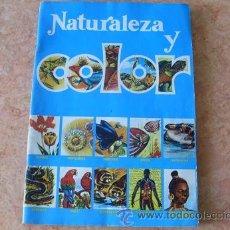 Coleccionismo Álbumes: ALBUM NATURALEZA Y COLOR,EDITORIAL CAREN,CON 180 CROMOS,. Lote 32606389