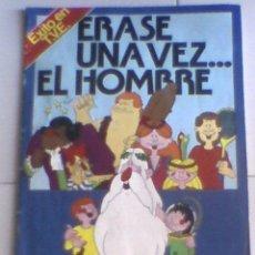 Coleccionismo Álbumes: ALBUM CROMOS ERASE UNA VEZ EL HOMBRE ..... PACOSADOS. Lote 27915576