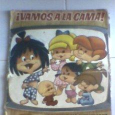 Coleccionismo Álbumes: ALBUM CROMOS VAMOS A LA CAMA 1965, BRUGUERA SOLO APROVECHAR CROMOS. Lote 27931173