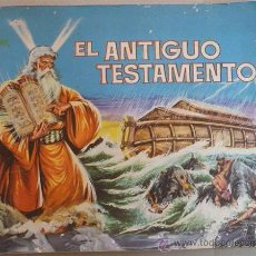 Coleccionismo Álbumes: EL ANTIGUO TESTAMENTO - ED.FERMA 1968 247 CROMOS (INCOMPLETO FALTAN 50). Lote 28276694