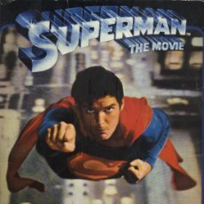 Coleccionismo Álbumes: ALBUM DE SUPERMAN THE MOVIE INCOMPLETO . Lote 28498821
