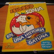 Coleccionismo Álbumes: ISIDORO Y SONIA EDITORIAL ASTON 1988 LE FALTAN 83 CROMOS DE 180. Lote 28519835