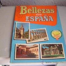Coleccionismo Álbumes: ALBUM CROMOS BELLEZAS DE ESPAÑA.COLECCIÓN CULTURA 6ª EDICIÓN.INCOMPLETO.. Lote 28534462