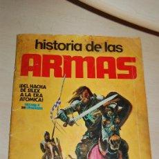 Coleccionismo Álbumes: ALBUN DE CROMOS HISTORIA DE LAS ARMAS . Lote 28570760