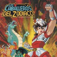 Coleccionismo Álbumes: ALBUM DE LOS CABALLEROS DEL ZODIACO DE PANINI - FALTAN 95 DE 240 CROMOS. . Lote 28742966