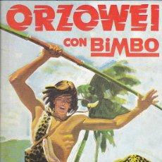 Coleccionismo Álbumes: ALBUM INCOMPLETO ORZOWEI BIMBO CONTIENE 65 CROMOS. Lote 28982008