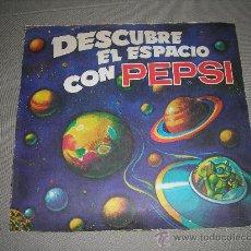Coleccionismo Álbumes: (M) ALBUM VACIO - DESCUBRE EL ESPACIO CON PEPSI 1976, SEÑALES DE USO. Lote 29081684