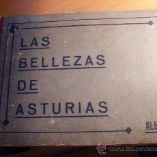 Coleccionismo Álbumes: LAS BELLEZAS DE ASTURIAS ALBUM 1 ( 607 CROMOS DE 650 ) AÑO 1933 (ALB-1). Lote 29361718