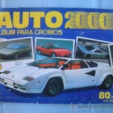 Coleccionismo Álbumes: ALBUM AUTO 2000 COCHES. Lote 29537105