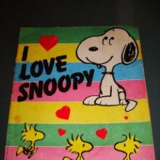 Coleccionismo Álbumes: ALBUM CROMOS SNOOPY PANINI 1987. Lote 29520729