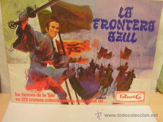 LA FRONTERA AZUL. ALBUM PANRICO. VACIO (Coleccionismo - Cromos y Álbumes - Álbumes Incompletos)