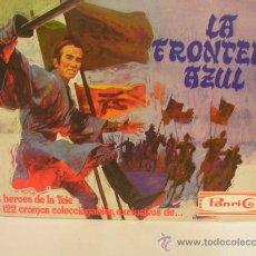 Coleccionismo Álbumes: LA FRONTERA AZUL. ALBUM PANRICO. VACIO. Lote 115519324