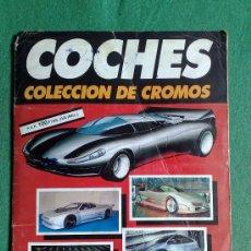Coleccionismo Álbumes: ALBUM DE CROMOS DE COCHES AUTOPISTA DE CUSCO. Lote 29717426